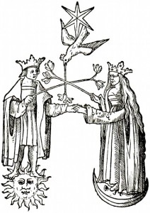 An alchemical image of the relational field